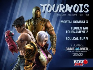 Tournoi Game Over 2 Juillet